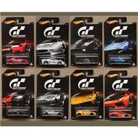 Coleção Hot Wheels Gran Turismo Com 8 Carros - Mattel Djl12