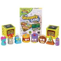 Conjunto 10 Mini Figuras - Trash Pack - Grossery Gang - Rot Hot Chili e Stink Cheese - DTC
