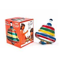 Pião Sonoro Alumínio Brinquedo Educativo Tradicional