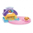 Hamsters In a House - Casa Hamster Roxa e Rosa