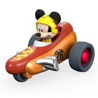 Veículo de Fricção - Disney - Mickey Aventura Sobre Rodas - Mickey Hot Diggity Dogster - Fisher - Price