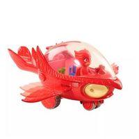 Veículo e Figura - PJ Masks - Planador Coruja com Luzes e Sons - DTC