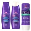 Aussie Kit Moist Shampoo + Condicionador + 3 Minutos Miracle Strong