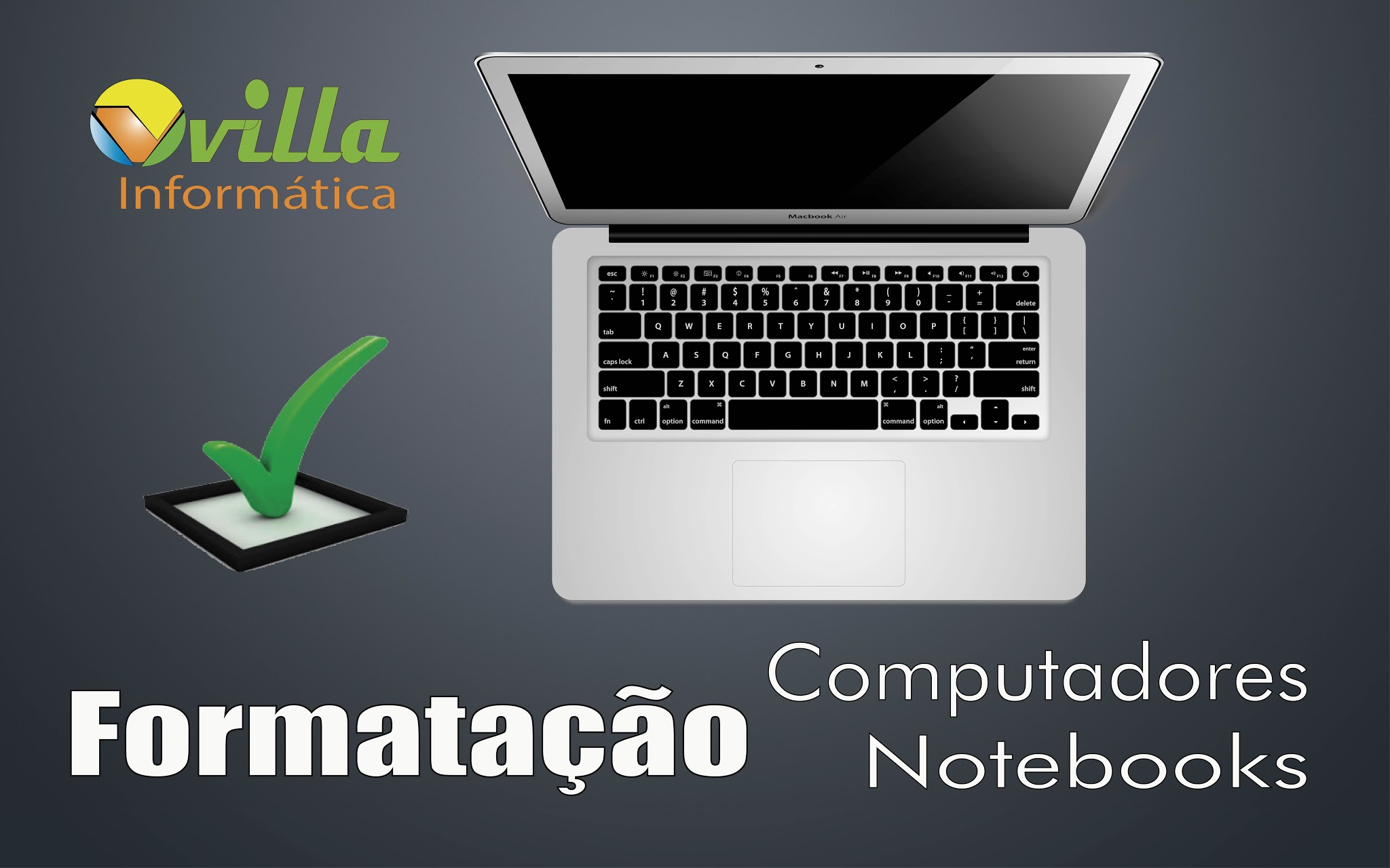 Formatação de Notebooks