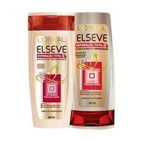 Kit Elseve Reparação Total 5 Shampoo + Condicionador