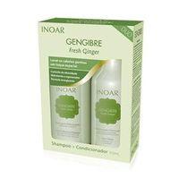 Kit Inoar Gengibre Fresh Ginger Shampoo + Condicionador