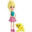 Polly Boneca Polly Pocket com Bichinho - Mattel