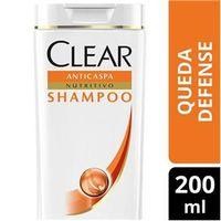 Shampoo Clear Women Anticaspa Queda Defense