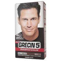 Shampoo Color Preto - Grecin 5