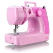 Máquina de Costura Portátil Supéria JX - 2050R Rosa Elgin -