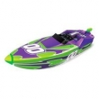 Micro Boats Blister - Lancha Motorizada Verde e Roxo 00 - DTC 4112