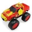 Carrinho Roda Livre - 28 cm - Monster Truck - Avengers - Iron Man - Marvel - Toyng