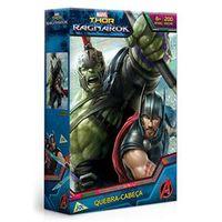 Quebra - Cabeça - Thor Ragnarok - 200 Peças - Marvel - Disney - Jak