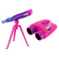 Show da Luna Binóculos Infantil + Microscópio com Luz LED - Multilkids BR483 / BR484