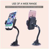 Suporte para carro 360 graus de giro do carro ventosa suporte suporte para carro móvel para Smartphone celular