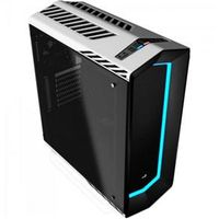 Gabinete Gamer Mid Tower Vidro Temperado Project 7 En58362 Branco Aerocool