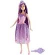 Barbie Princesa Cabelos Longos Roxo Mattel Dkb56 / Dkb59