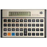 Calculadora Financeira HP 12c Prestige Dourada com 130 Funções e Visor de 10 Dígitos