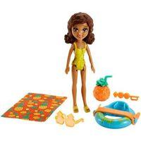 Mini Boneca Polly Pocket - Shani - Parque Aquático dos Abacaxis - Mattel