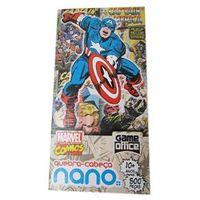 Quebra - Cabeça 500 Peças Nano - Marvel Comics - Capitão América
