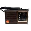 Radio Recarregavel Fm Am Sw com Usb 4 Bandas Maxmidia Max 2730