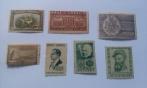 Selos Comemorativos Do Ano De 1938.