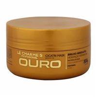 Cicatri Mask Banho de Ouro Le Charmes Mascara Hidratante 300g