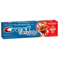 Creme Dental Crest Complete Cinnamon Rush 170g