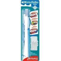 Escova Dental Bitufo Ortodôntico Cônico Com