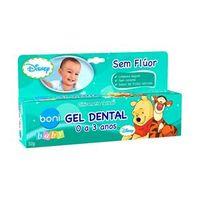 Gel Dental Sem Flúor Boni Baby Pooh