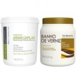Kit For Beauty Btox Max Illumination e Banho de Verniz 2X1Kg