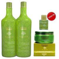 Kit Inoar Argan Shampoo + Condicionador E Máscara Hidratação