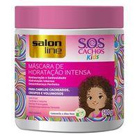 Máscara de Hidratação Intensa S.O.S Cachos Kids Salon Line 500g