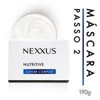 Máscara de Tratamento Nexxus Nutritive para Cabelos Ressecados - Passo 2