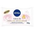Sabonete Nivea Hidratante Talco & Óleo de Amêndoas