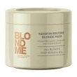Schwarzkopf BlondMe Keratin Restore Blonde Mask M ? ? scara de Tratamento - 750ml