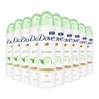 Kit 10 Desodorante Aerosol Dove Go Fresh Pepino 150ml