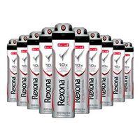 Kit 10 Desodorante Aerosol Rexona Antibacterial 150ml