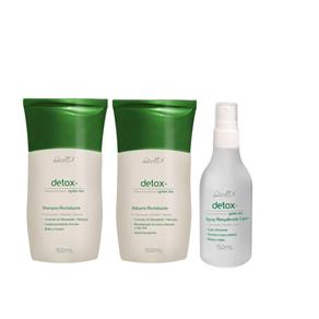 Kit Detox Shampoo e Balsamo 150Ml