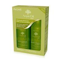 Kit Inoar Argan Oil Shampoo Hidratante + Bálsamo Condicionador
