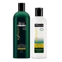 Kit Tresemmé Detox Shampoo 400ml + Condicionador 200ml