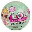 Mini Boneca Surpresa - LOL - Lil Sisters - Serie 2 - Candide