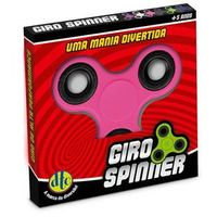 Hand Spinner Anti Stress Certificado - Fidget Giro Spinner - Rosa - DTC