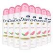 Kit 8 Desodorante Aerosol Dove Go Fresh Romã 150ml