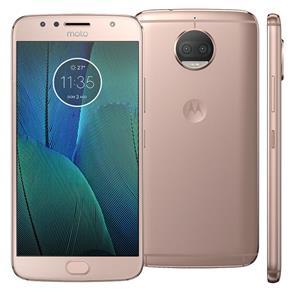 Smartphone Motorola Moto G5s Plus XT1802 Ouro Rosé 32GB, Tela 5.5 ´ ´, Dual Chip, TV Digital, Android 7.1, Câmera Traseira Dupla