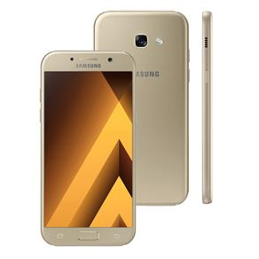 Smartphone Samsung Galaxy A5 2017 A520F / DS Dourado com 64GB, Dual Chip, Tela 5.2 ´ FHD, 4G, Câmera 16MP, Android 6.0, Processa