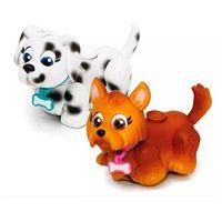 Mini Figuras - Pet Parade - Cachorrinhos Pintado e Marrom - Multikids