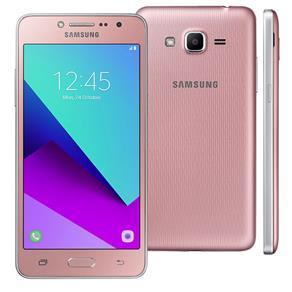 Smartphone Samsung Galaxy J2 Prime TV Rosa com 16GB, Dual Chip, Tela 5 ´, TV Digital, Câmera 8MP, Android 6.0 e Processador Quad