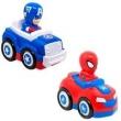 Carro Sortido Top Racer Capitão América e Spider Man - Candide