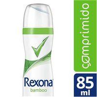 Desodorante Antitranspirante Rexona Bamboo Feminino Aerosol Comprimido